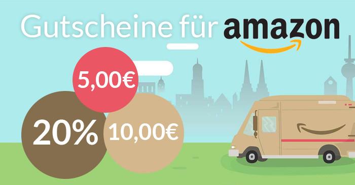 Gutscheine für Amazon