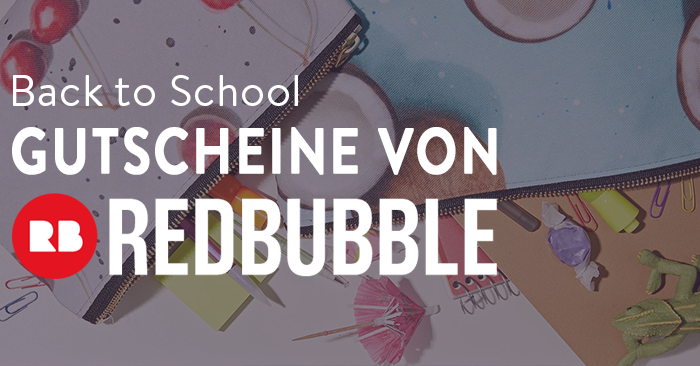 Back to School RedBubble Gutschein