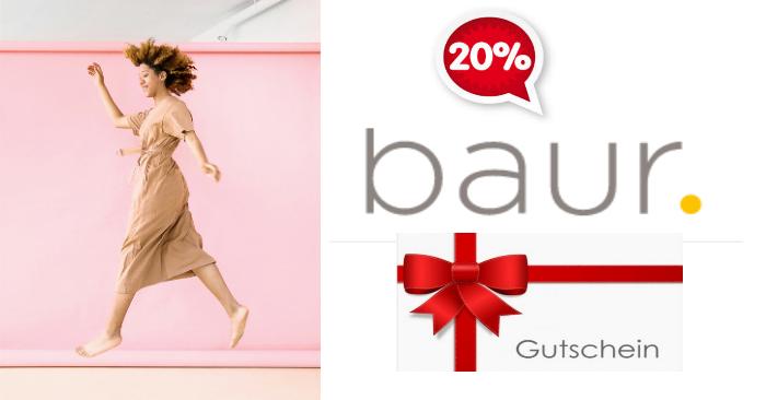 20% Baur Gutschein