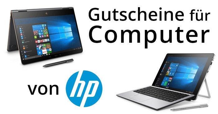 Computer Gutscheine für HP HewlettPackard