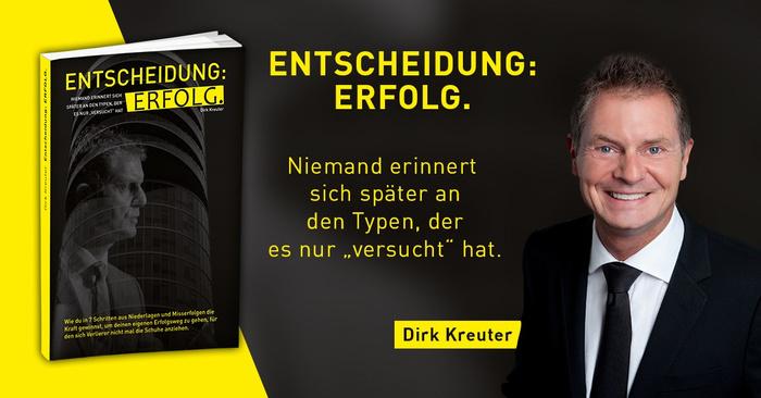 Dirk Kreuter Gutschein für ein gratis Buch