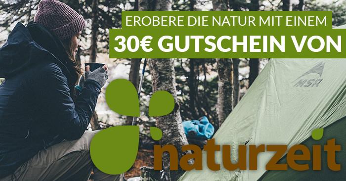 30 Euro Natur Gutschein für Naturzeit.com