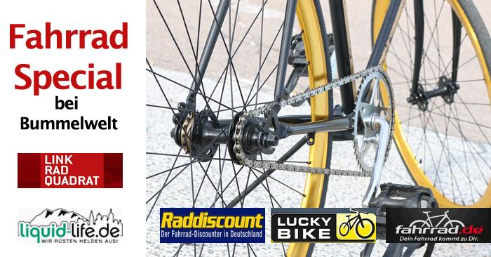 Fahrrad Gutschein Special