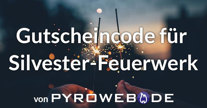 Silvester-Feuerwerk Gutschein für Pyroweb