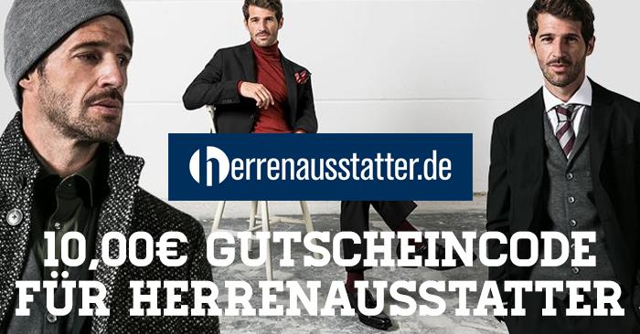 10 Euro Herrenausstatter Gutscheincode