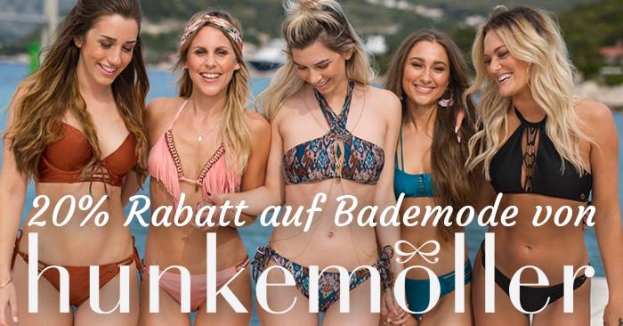 20% Hunkemöller Rabatt auf Bademode
