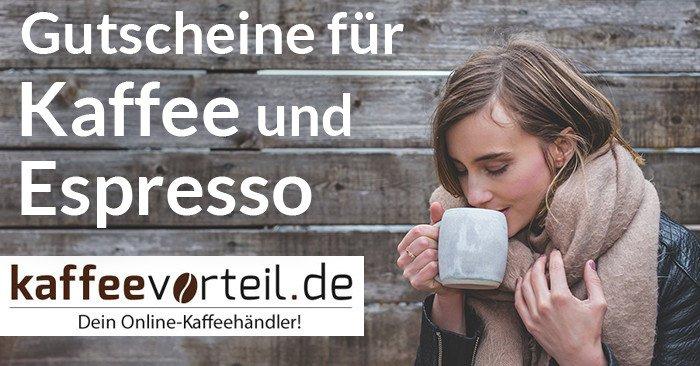 Gutscheine für Kaffee und Espresso