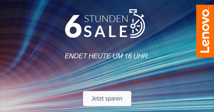Lenovo eCoupon 6h Sale