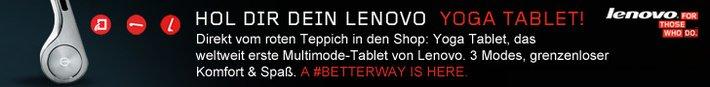 Yoga Tablet von Lenovo