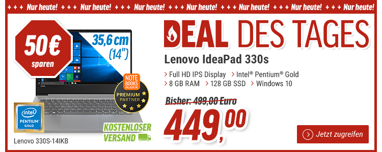 Notebooksbilliger Deal des Tages