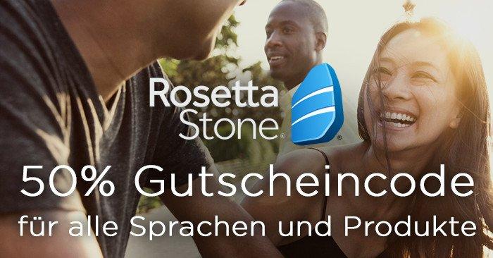 RosettaStone Gutscheincode fürs Sprachen lernen