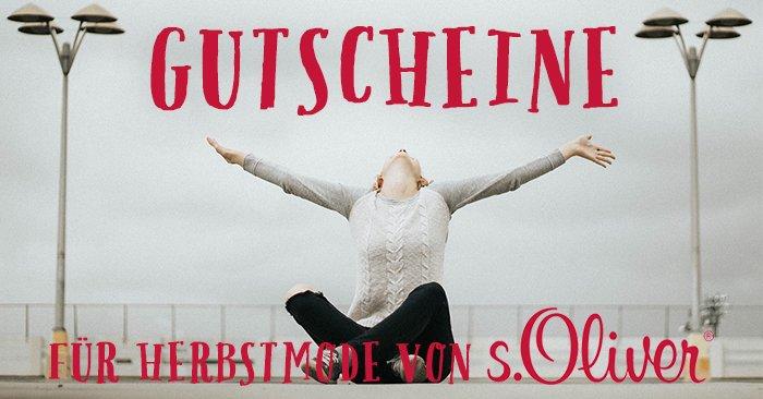 s.Oliver Gutschein für Herbstmode