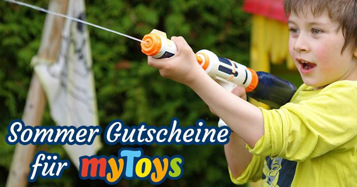 Sommer Gutscheine für MyToys